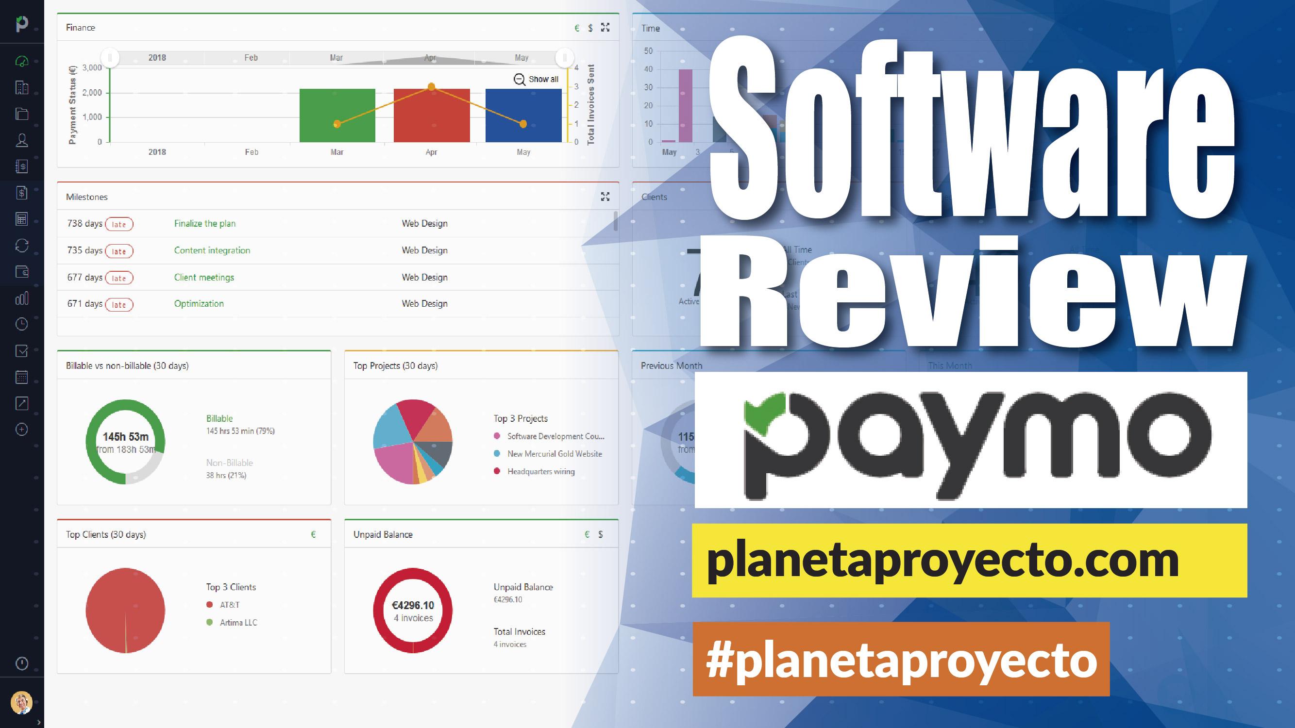 Software review, Paymo #planetaproyecto – Planeta Proyecto
