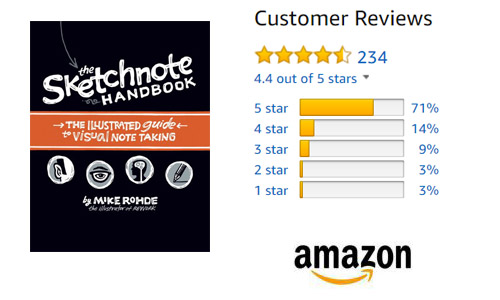 the sketchnbote handbook_amazon